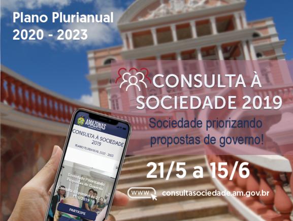 Governo lança as bases para consulta pública ao PPA 2020-2023
