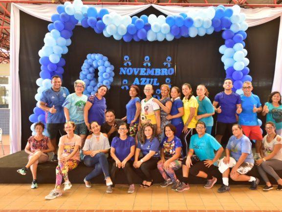 Seas realiza programação especial no Centro de Convivência Padre Pedro Vignola para conscientizar população sobre importância da prevenção do câncer de próstata