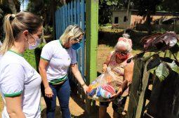 Governo do Amazonas entrega cestas básicas e máscaras em comunidades ribeirinhas e rurais de Manacapuru