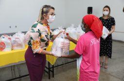 Centros de convivência recebem kits de higiene doados pela Seas, Unicef e Lojas Americanas