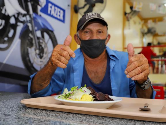 Restaurantes e cozinhas populares da Seas retomam atividades presenciais de forma responsável