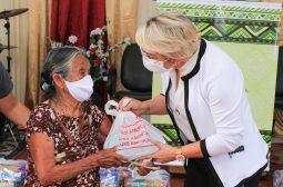 Seas doa cestas básicas, kits de higiene e ar-condicionado a instituto socioambiental da zona leste