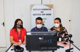Seas promove videoconferência para trabalhadores do Sistema Único de Assistência Social de Canutama e Itapiranga