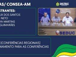 SEAS/ CONSEA-AM – (Conferências Regionais) Chamamento para as conferências