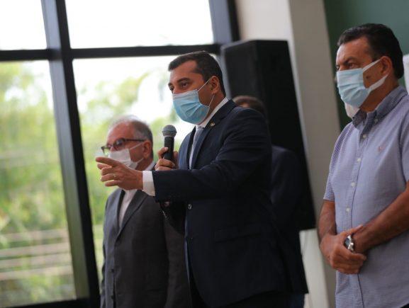 Wilson Lima anuncia novas ações para reforçar medidas de prevenção à Covid-19