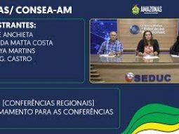 SEAS/ CONSEA-AM -(Conferências Regionais) Chamamento para as conferências