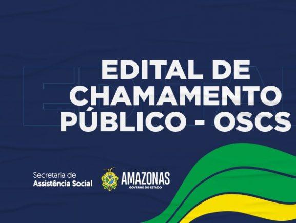 EDITAL DE CHAMAMENTO PÚBLICO - OSCS