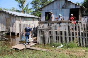 Governo do Amazonas e Parceiros Brilhantes realizam ação humanitária no Novo Remanso, em Itacoatiara