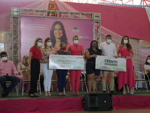 CECF Magdalena Arce Daou recebe serviços de saúde e cidadania no Outubro Rosa